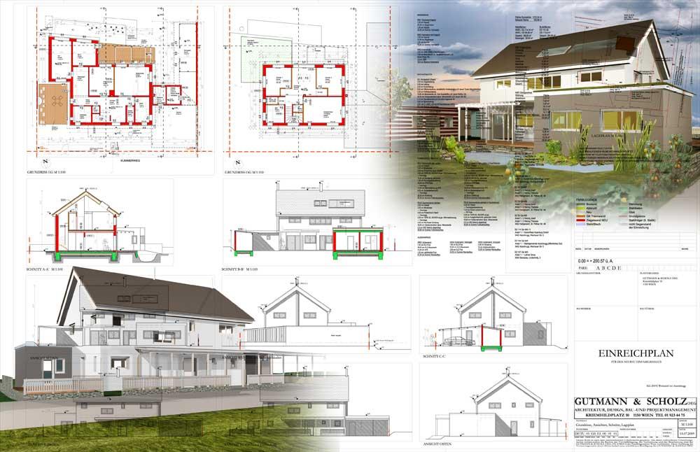 Architekt Daniel Gutmann - Einfamilienhäuser - Mit Familie auf's Land
