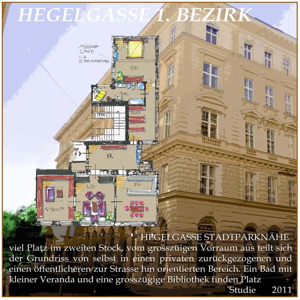 Architekt Daniel Gutmann - Wohnungen - Altbau Hegelgasse