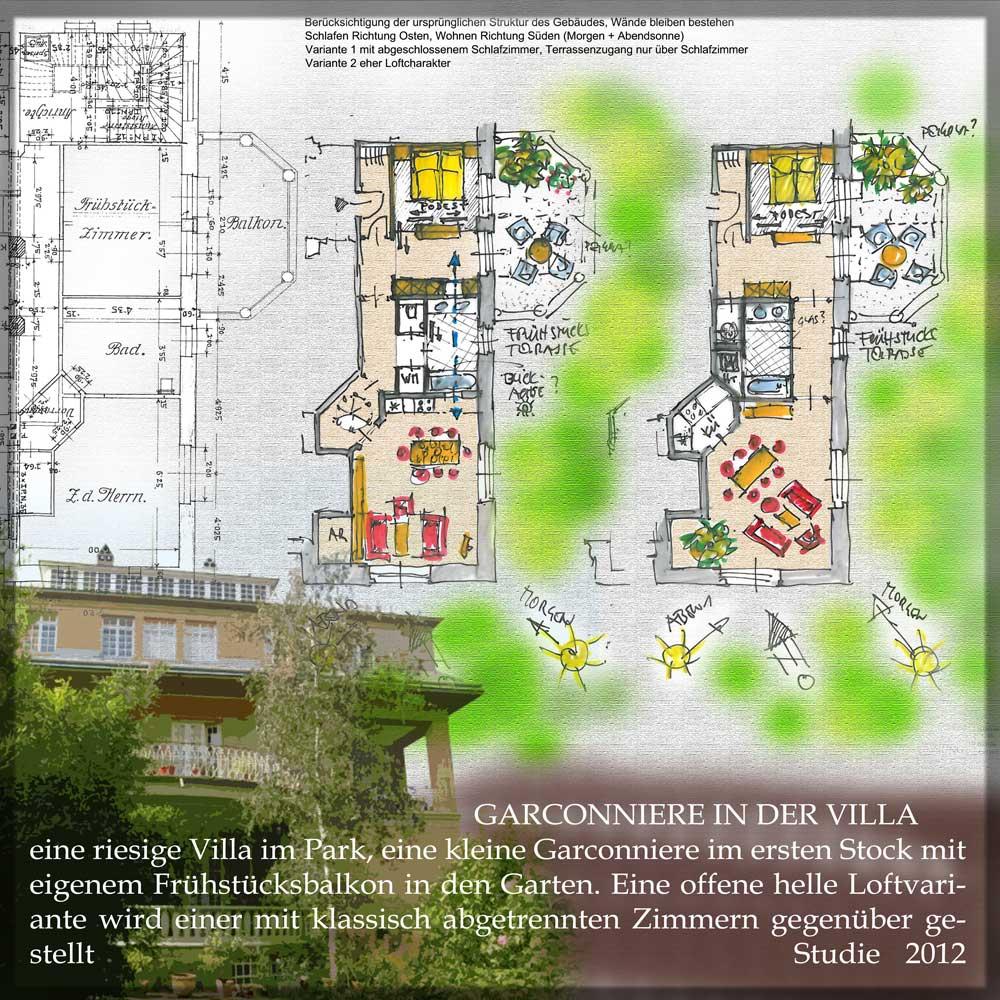 Architekt Daniel Gutmann - Wohnungen - Garconniere in der Villa