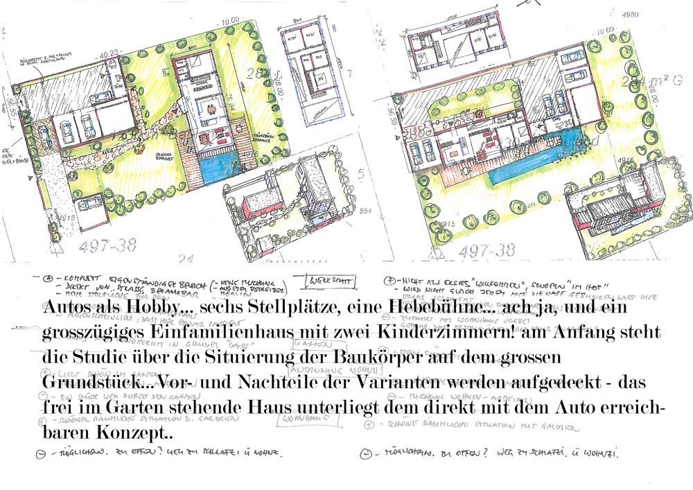 Architekt Daniel Gutmann - Einfamilienhäuser - Autos als Hobby - Herzogenburg